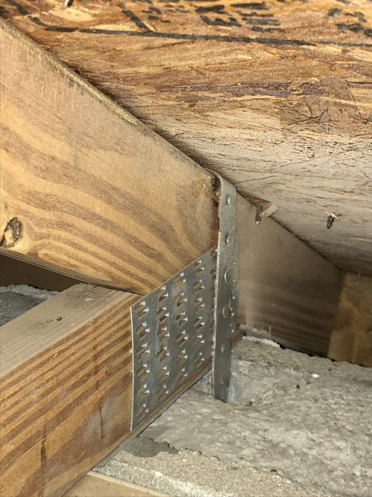 Hurricane Strap Confusion Home Inspectors In Ocoee Fl